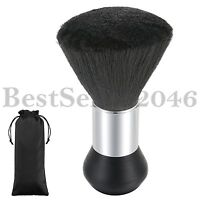 Professional Black Hairdressing Stylist Barbers Salon Hair Cut Neck Duster Brush
