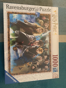 Ravensburger,1000 Jigsaw Puzzle, Magical Student Harry Potter .New