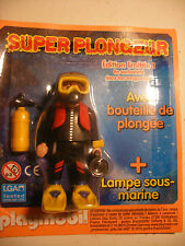 playmobil inedit SUPER PLONGEUR edition speciale limited 2016 FRANCE Neuf