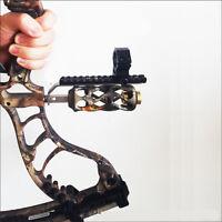 Compound bow Barrel Mount Holder Laser sight Flashlight Torch Night Hunter Hold