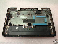 Dell Mini Inspiron DUO Dark Grey Laptop Case Bottom Base  + DC Jack (03) 076VMH