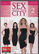SEX AND THE CITY -  2ND SEASON - EPISODES 7, 8, 9, 10, 11 & 12 - DVD