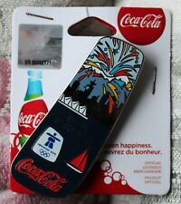 Day 17 Bottle set   AUTHENTIC Coca cola  Vancouver 2010  Olympic PIN NEW