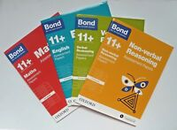 Bond 11+ English & Maths Assessment Papers, Ages 8-9 Years (set of 4 books)