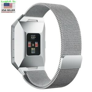 Milanese Loop Mesh Wrist Watch Band for Fitbit Ionic Stainless Steel Metal Strap