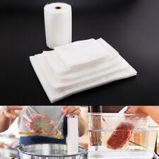 sac sous vide alimentaire sac bouilli 100pcs 5 tailles / texturé 20cm x 30m