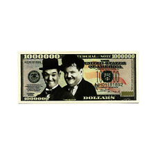 1 Laurel and Hardy fantasy paper money