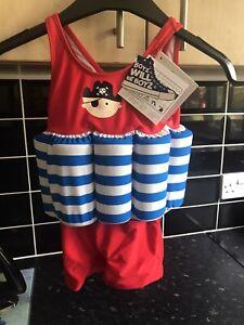 Boyz Will Be Boys Float Swimming Costume Bnwt 24-36m Unisex Fab
