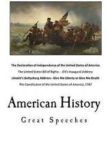 American History: Great Speeches by Jefferson, Thomas -Paperback