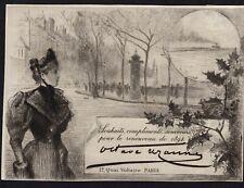 31)Nr.116- EXLIBRIS- Gelegenheitsgrafik Rodolphe Piguet (1840-1915) - 1894