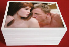 "JAMES BOND ""Quantum Of Solace"", COMPLETE 90 Card Base Set, RITTENHOUSE ARCHIVES"