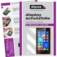 6x dipos Microsoft Lumia 435 Protector de Pantalla transparente