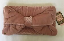 NWT Juicy Couture RN52002 Pink Purse Clutch With Large Bow