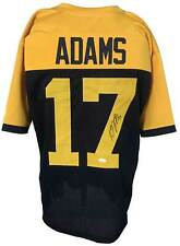 Davante Adams Autographed Pro Style Throwback Jersey JSA Authenticated