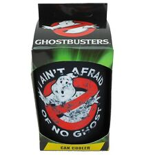 GHOSTBUSTERS Stubby Holder - Man Cave Movie BBQ Beer Can Cooler Glass