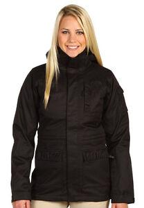 Women's The North Face Black Seeya Triclimate Ski Snow Jacket L New $300