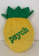 Psych TV show Pineapple Throw Pillow