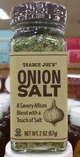 Trader Joe's Onion Salt Seasoning Blend (Spice), 2.0oz (57g)