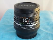 for m4/3 (mirrorless) Super Quality Yashica 50mm f2 PRIME LENS for Micro 4/3