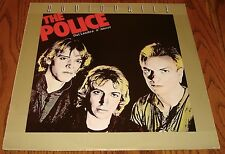 THE POLICE OUTLANDOS D'AMOUR AUDIOPHILE PRESSING IMPORT LP 1978
