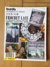 BURDA crochet magazine. Artisanat Série. Vol 1 No 3.