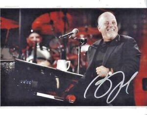 Billy Joel 8x10 signed Photo with COA