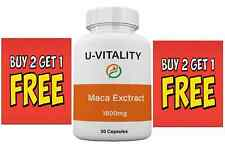 Buy 2 get 1 FREE - Maca Root Extract XL Powder Capsules