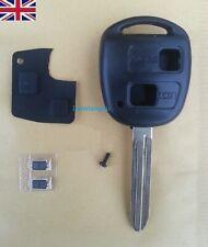 Toyota RAV4 Yaris Corolla Celica Prius 2 Buttons Key Fob Case & Repair Kit