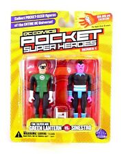 DC Direct Pocket Super Heroes Series 1 The Silver Age Green Lantern Vs. Sinestro
