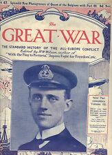 More details for the great war magazine part 47 & 201  (1915 and 1918)