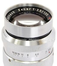 Schneider-Kreuznach XENAR 1:3.5/135mm RARE! Telephoto Lens PENTAX M42 + DIGITAL