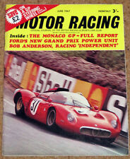 June Motor Racing Monthly Sports Magazines