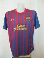 FC Barcelona 2011/2012 home XL Nike shirt jersey maillot soccer Barca football