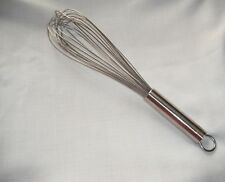 Rosle Egg Beater Whisk Kitchen Accessories 18/10 Stainless Steel 38cm Wires: 14