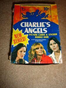 1977 Topps Charlie's Angels Series 2 Empty Box - Display Box no packs