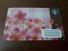 Starbucks Malaysia Sakura 2018 Card