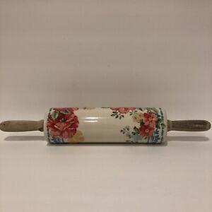 Pioneer Woman Vintage Floral Rolling Pin