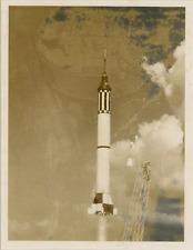 États-Unis, Rocket, Redstone  Vintage silver print Tirage argentique  17x22