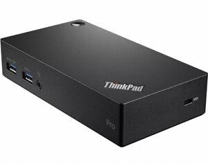 ThinkPad USB 3.0 Pro Docking Station 40A70045US Yoga X1 T460 T470 P51 p71 DK1522