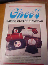 "1989 Ghee""s Cameo Clutch Handbag Purse Sewing Pattern Uncut"