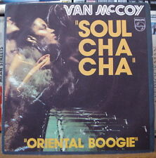 "VAN Mc COY ""SOUL CHA CHA"" FRENCH SP PHILIPS 1977"