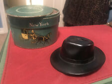 Vintage Dobbs Fifth Avenue Hat Box Small Salesmans Sample Hat Box and Hat