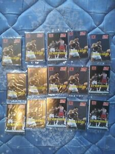 Allo World Boxing Trading Cards 1991 Unopend Packs