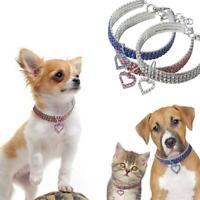 Collier en cristal pour animaux de compagnie chat collier de chien chien strass