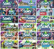 THE SIMS 3 + All Expansions Packs Steam PC Digital Version ! Read Description !