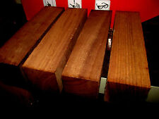 FOUR (4) BLACK WALNUT TURNING BLOCKS LUMBER LATHE WOOD BLANKS 3 X 3 X 12""