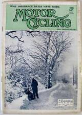 1st Edition Motor Cycling Magazines in English