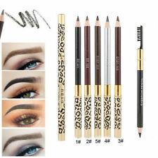 5 Colors Waterproof Eyebrow Pencil Eye Brow Eyeliner Pen With Brush Makeup Tool