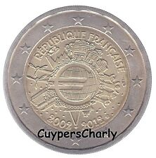 Frankrijk 2012 2€ UNC 10 jaar Euro TYE
