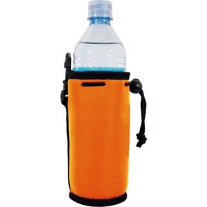 Blank Neoprene Water Bottle Coolies with Full Bottom; choice of color, quantity